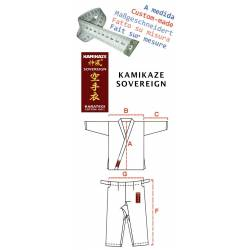Karategui Kamikaze Sovereign hecho a medida