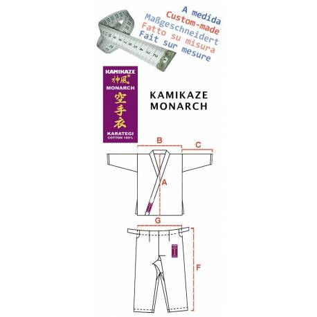 Karategi Kamikaze MONARCH - Custom made