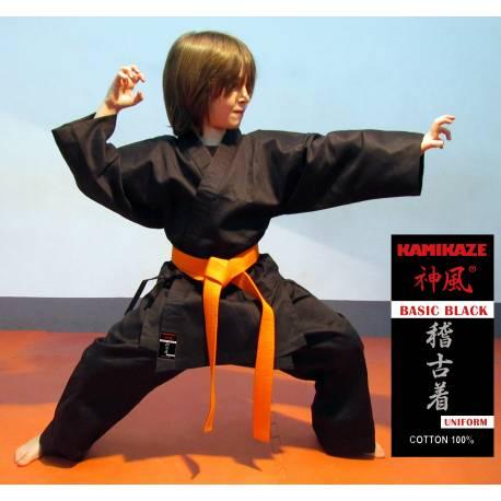 Pantalon Kamikaze noir BASIC BLACK