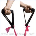 Handles for the subjection of the elastic bands