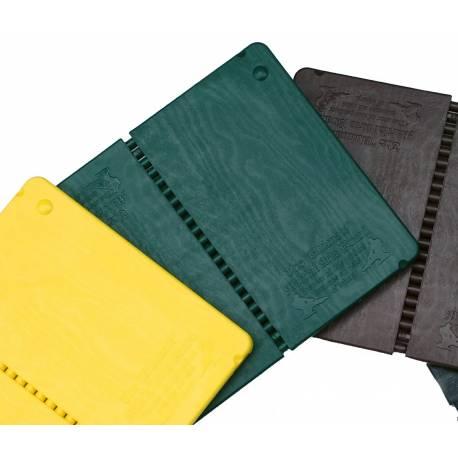Planche à rompre et ré-utilisable, couleur: verte