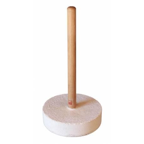 Bouclier de frappe courbé en cuir