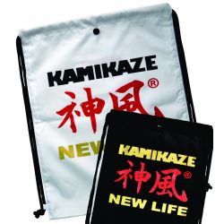 GYM BAG - BACKPACK KAMIKAZE NEW LIFE 47 x 35 cm, black or white