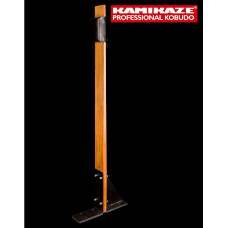 KAMIKAZE MAKIWARA PROFESSIONAL complete for FLOOR fixing, hard wood and striking pad