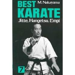 Libro BEST KARATE M. NAKAYAMA,Vol.07  inglés