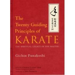 Libro FUNAKOSHI Twenty Guiding Principles of Karate, inglés