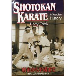Book Shotokan Karate - A Precise History by Harry COOK, english