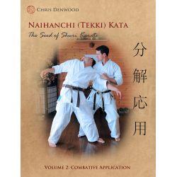 Book CHRIS DENWOOD - Naihanchi (Tekki) Kata: The Seed of Shuri Karate, English Vol.2