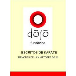 Book dojo fundazioa: MENORES DE 15 Y MAYORES DE 60, Félix Sáenz and others, spanish
