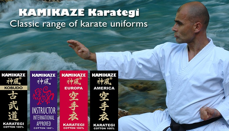 f7cc630f93 ... TOKYO Special Edition · NEW LIFE Premium Quality · Kamikaze Classic  Range of Karate Uniforms ...