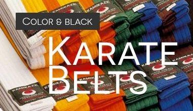 Cinturones de karate, judo